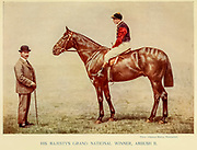 His Majesty's Grand National Winner, Ambush II From the book ' English sport ' by Alfred Edward Thomas Watson, Published in London by Macmillan and Co. Limited and in New York by Macmillan Company. in 1903