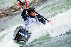 Ria SRIBAR (USA) during Kayak Finals at World Cup Tacen, 17 October 2020, Tacen, Ljubljana Slovenia. Photo by Grega Valancic / Sportida