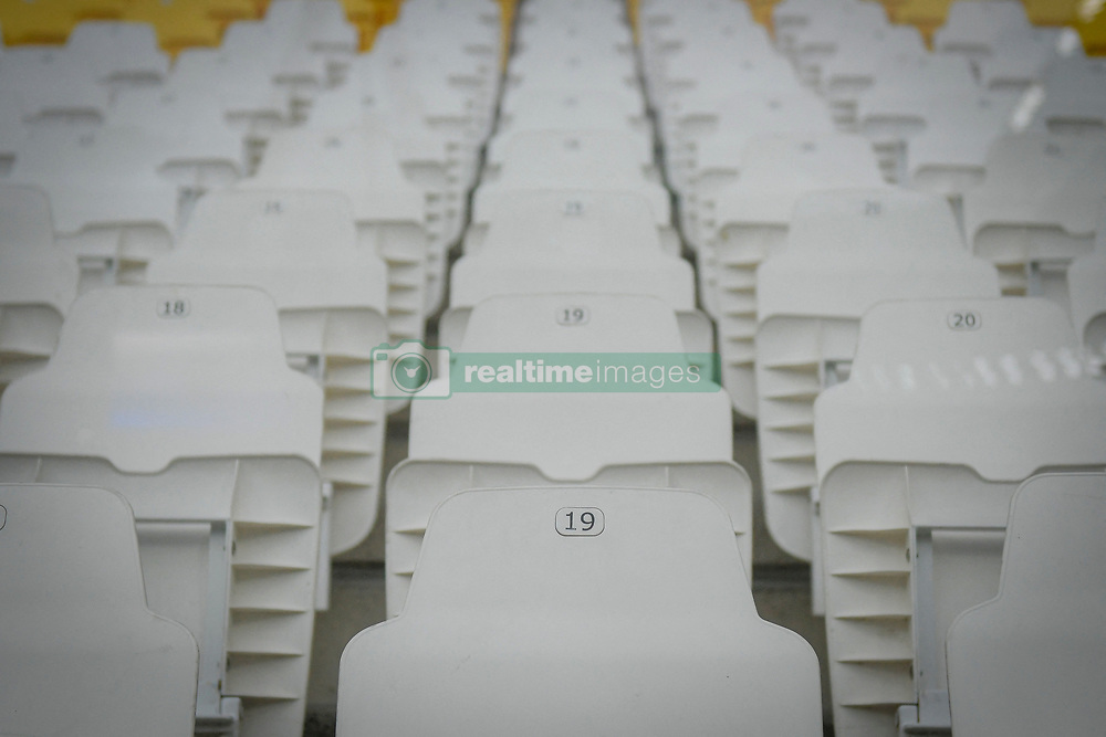 Juventus-Milan match for Italian Cup 2019/2020 at Juventus Stadium in Turin, Italy on June 12, 2020. The stadium behind closed doors for the covid-19 emergency. Photo by Riccardo Giordano/IPA/ABACAPRESS.COM