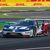 #66, Ford Chip Ganassi Team UK, Ford GT, LMGTE Pro, driven by: Stefan M?cke, Olivier Pla, #67, Ford Chip Ganassi Team UK, Ford GT, LMGTE Pro, driven by: Andy Priaulx, Harry Tincknell at FIA WEC Silverstone 6h, 2018 on 17.08.2018