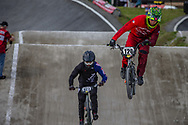 #120 (PELLUARD Vincent) FRA during round 4 of the 2017 UCI BMX  Supercross World Cup in Zolder, Belgium.