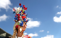 Miss Natalia Beach during day four of Royal Ascot at Ascot Racecourse.