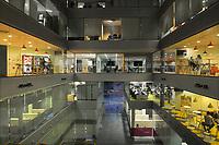 19/Noviembre/2014 Cornellà de Llobregat. Barcelona.<br /> Parque empresarial World Trade Center Almeda propiedad de Merlín Properties.<br /> Interior del Edificio 1.<br /> <br /> © JOAN COSTA