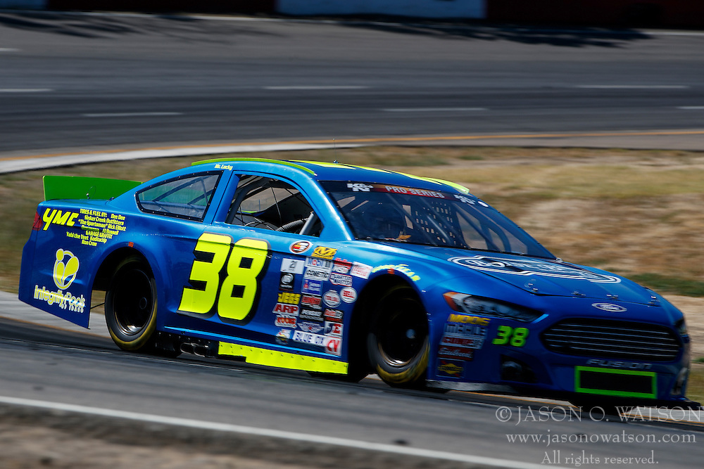 ROSEBURG, OR - AUGUST 27: during practice for the NASCAR K&N Pro Series West Toyota/NAPA Auto Parts 150 at the Douglas County Speedway on August 27, 2016 in Roseburg, Oregon. (Photo by Jason Watson/NASCAR via Getty Images) *** Local Caption ***