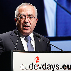 20101206 - Brussels , Belgium - European Development Days - Special Address - HE Salam Fayyad - Salam Fayyad , Prime Minister of Palestine © European Union - Scorpix