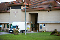 © Licensed to London News Pictures. 11/02/2020. Bicester, UK.  General view of HMP Bullingdon in Oxfordshire. Two male inmates are reportedly being tested for COVID-19 (Coronavirus). Access to the prison is being restricted.  Photo credit: Cliff Hide/LNP