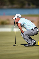 March 21, 2018 - Austin, TX, U.S. - AUSTIN, TX - MARCH 21: Charles Howell III lines up a putt during the First Round of the WGC-Dell Technologies Match Play on March 21, 2018 at Austin Country Club in Austin, TX. (Photo by Daniel Dunn/Icon Sportswire) (Credit Image: © Daniel Dunn/Icon SMI via ZUMA Press)