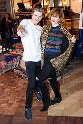 03.12.2015, Madrid, ESP, opening party, World big store of PULL & BEAR, im Bild Bimba Bose and her boyfriend Charlie // during the opening party of the World big store of PULL & BEAR in Madrid, Spain on 2015/12/03. EXPA Pictures © 2015, PhotoCredit: EXPA/ Alterphotos/ BorjaB.hojas<br /> <br /> *****ATTENTION - OUT of ESP, SUI*****