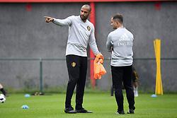 September 5, 2018 - Tubize, Belgique - Thierry Henry ass. coach of Belgian Team, Shaun Maloney ass. coach of Belgian Team (Credit Image: © Panoramic via ZUMA Press)