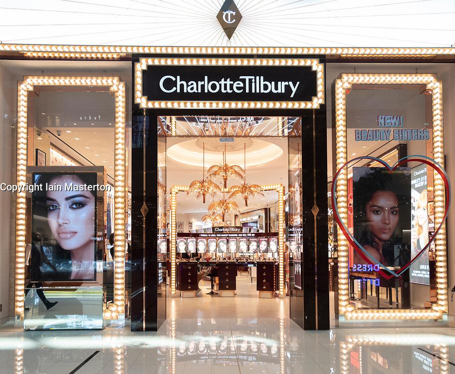 Charlotte Tilbury store in Dubai Mall, UAE, United Arab Emirates