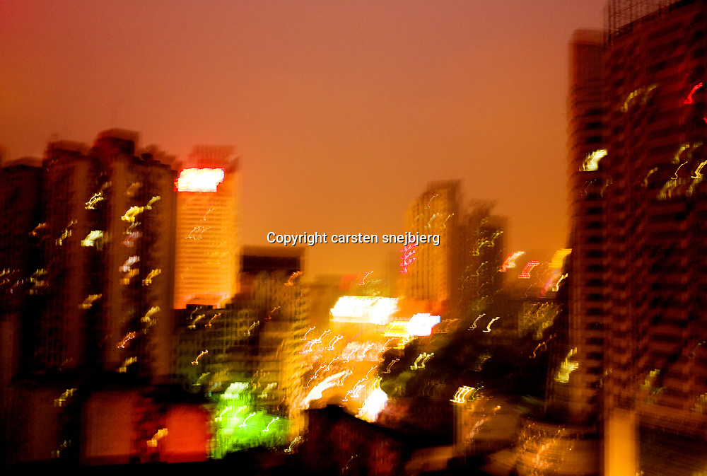 Chongqing, China, on monday 2. jan, 2008