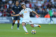 Tom Carroll of Swansea city in action.  Swansea city v Sampdoria , pre-season friendly at the Liberty Stadium in Swansea, South Wales on Saturday August 5th 2017.<br /> pic by Andrew Orchard, Andrew Orchard sports photography.