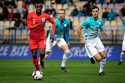 Edward Nketiah of England during friendly Football match between U21 national teams of Slovenia and England, on October 11, 2019 in Ljudski Vrt, Maribor, Slovenia. Photo by Blaž Weindorfer / Sportida