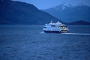 Cruise ship, Patagonia, Chile
