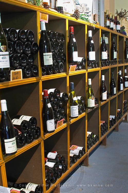 wine shop chateau d'etroyes mercurey burgundy france