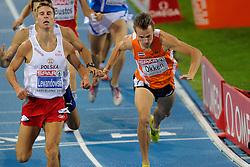 29-07-2010 ATLETIEK: EUROPEAN ATHLETICS CHAMPIONSHIPS: BARCELONA<br /> Arnaud Okken plaatst zich voor de 800 meter finale<br /> ©2010-WWW.FOTOHOOGENDOORN.NL