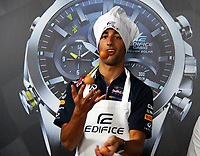 RICCIARDO Daniel (Aus) Red Bull Renault Rb10 ambiance portrait  during the 2014 Formula One World Championship, Italy Grand Prix from September 5th to 7th 2014 in Monza, Italy. Photo DPPI