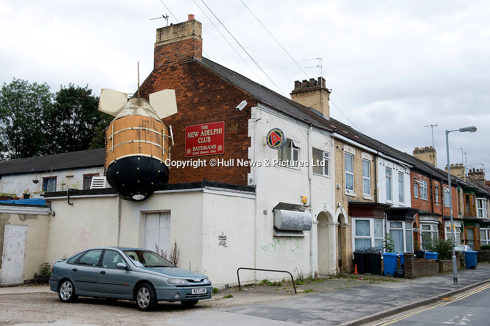 30 August 2014: Adelphi Club in Hull, East Yorkshire, UK.<br /> Picture: Sean Spencer/Hull News & Pictures Ltd<br /> 01482 772651/07976 433960<br /> www.hullnews.co.uk   sean@hullnews.co.uk