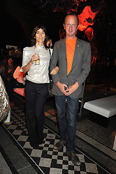 BELLA FREUD and JOHNNIE SHAND-KYDD at British Style Observed - part of National Magazine's 30 Days of Fashion & Beauty festival featuring photographs by Mary McCartney with proceeds from the evening going to Macmillan Cancer Care held at the Natural History Museum, Cromwell Road, London on 16th September 2008.