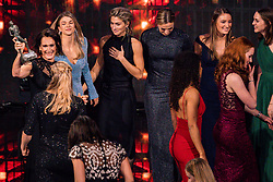 18-12-2019 NED: Sports gala NOC * NSF 2019, Amsterdam<br /> The traditional NOC NSF Sports Gala takes place in the AFAS in Amsterdam / Actrice Monic Hendrickx and the price for the Handball players