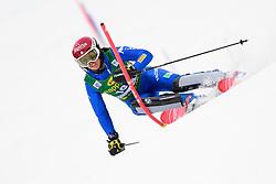 January 7, 2018 - Kranjska Gora, Gorenjska, Slovenia - Irene Curtoni of Italy competes on course during the Slalom race at the 54th Golden Fox FIS World Cup in Kranjska Gora, Slovenia on January 7, 2018. (Credit Image: © Rok Rakun/Pacific Press via ZUMA Wire)