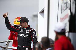 March 11, 2018 - St. Petersburg, Florida, United States of America - March 11, 2018 - St. Petersburg, Florida, USA: Robert Wickens (6) gets introduced to the crowd for the Firestone Grand Prix of St. Petersburg at Streets of St. Petersburg in St. Petersburg, Florida. (Credit Image: © Justin R. Noe Asp Inc/ASP via ZUMA Wire)