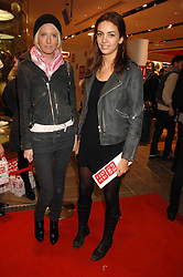 Left to right, the HON.SOPHIA HESKETH and ROSE HANBURY at a party to celebrate the opening of the new Uniqlo store at 331 Oxford Street, London W1 on 6th November 2007.<br /><br />NON EXCLUSIVE - WORLD RIGHTS