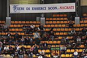 DESCRIZIONE : Bologna Lega Basket A2 2011-12 Conad Biancoblu Basket Bologna Assi Basket Ostuni<br /> GIOCATORE : Tifosi Striscione contro Sacrati<br /> CATEGORIA : <br /> SQUADRA : Conad Biancoblu Basket Bologna <br /> EVENTO : Campionato Lega A2 2011-2012<br /> GARA : Conad Biancoblu Basket Bologna Assi Basket Ostuni<br /> DATA : 06/11/2011<br /> SPORT : Pallacanestro<br /> AUTORE : Agenzia Ciamillo-Castoria/M.Marchi<br /> Galleria : Lega Basket A2 2011-2012 <br /> Fotonotizia : Bologna Lega Basket A2 2011-12 Conad Biancoblu Basket Bologna Assi Basket Ostuni<br /> Predefinita :