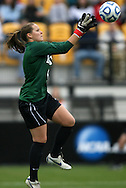 04 December 2011: Duke's Tara Campbell. The Stanford University Cardinal defeated the Duke University Blue Devils 1-0 at KSU Soccer Stadium in Kennesaw, Georgia in the NCAA Division I Women's Soccer College Cup Final.
