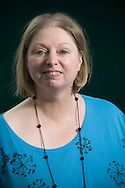 Booker Prize-nominated British writer Hilary Mantel, pictured at the Edinburgh International Book Festival where she talked about her new novel entitled 'Wolf Hall'. The three-week event is the world's biggest literary festival and is held during the annual Edinburgh Festival. The 2009 event featured talks and presentations by more than 500 authors from around the world.