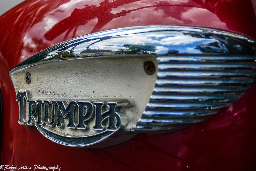 Old School Triumph Emblem