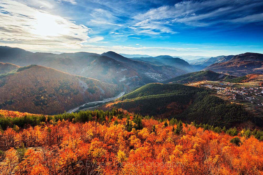 Thracian sanctuary Belintash in Rhodope Mountains