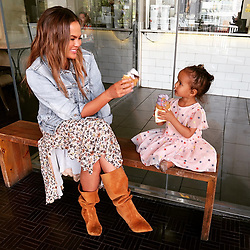"""Chrissy Teigen releases a photo on Instagram with the following caption: """"Somi Somi!"""". Photo Credit: Instagram *** No USA Distribution *** For Editorial Use Only *** Not to be Published in Books or Photo Books ***  Please note: Fees charged by the agency are for the agency's services only, and do not, nor are they intended to, convey to the user any ownership of Copyright or License in the material. The agency does not claim any ownership including but not limited to Copyright or License in the attached material. By publishing this material you expressly agree to indemnify and to hold the agency and its directors, shareholders and employees harmless from any loss, claims, damages, demands, expenses (including legal fees), or any causes of action or allegation against the agency arising out of or connected in any way with publication of the material."""