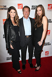 HOLLYWOOD, CA - OCTOBER 14: Katherine Schwarzenegger, Christina Schwarzenegger, at the Los Angeles Special Screening of Killing Gunther at the TCL Chinese 6 in Hollywood, California on October 14, 2017. 14 Oct 2017 Pictured: Katherine Schwarzenegger, Arnold Schwarzenegger, Christina Schwarzenegger. Photo credit: FS/MPI/Capital Pictures / MEGA TheMegaAgency.com +1 888 505 6342
