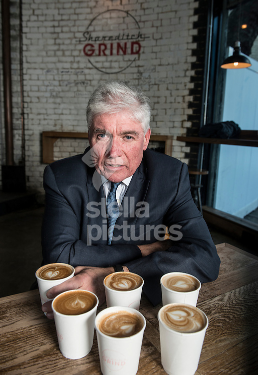 Economist and author of 'The Flat White Economy' Douglas McWilliams pictured at Shoreditch Grind, London.<br /> Picture by Daniel Hambury/Stella Pictures Ltd +44 7813 022858<br /> 02/03/2015