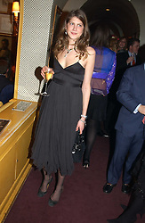 PRINCESS FLORENCE VON PREUSSEN at a private dinner and presentation of Issa's Autumn-Winter 2005-2006 collection held at Annabel's, 44 Berkeley Square, London on 15th March 2005.<br />