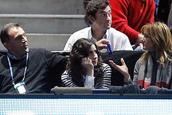 22.11.2010, Marriott Country Hall, London, ENG, ATP World Tour Finals, im Bild Xisca Perello girlfriend Nadal, Rafael (ESP). EXPA Pictures © 2010, PhotoCredit: EXPA/ InsideFoto/ Semedia +++++ ATTENTION - FOR AUSTRIA/AUT, SLOVENIA/SLO, SERBIA/SRB an CROATIA/CRO CLIENT ONLY +++++
