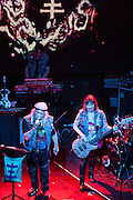 Psychic TV  performing  at the  Arena  Club in Madrid