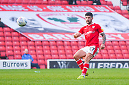 Alex Mowatt of Barnsley (27) in action during the EFL Sky Bet League 1 match between Barnsley and Coventry City at Oakwell, Barnsley, England on 30 March 2019.