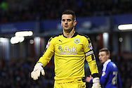 Burnley goalkeeper Thomas Heaton looks on. Skybet football league Championship match, Burnley v Ipswich Town at Turf Moor in Burnley, Lancs on Saturday 2nd January 2016.<br /> pic by Chris Stading, Andrew Orchard sports photography.