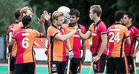 ROTTERDAM -HOCKEY - ABN AMRO CUP , als voorbereiding op de competitie. het tenue van Oranje-Rood. midden Mink van der Weerden.  COPYRIGHT KOEN SUYK