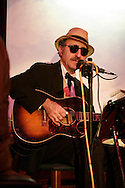 Tribune Photo/SANTIAGO FLORES Leon Redbone performed at the Woodfire Trattoria in Dowagiac on Tuesday night.  Look for a review at www.Southbendtribune.com and in Thursday's Faith section.