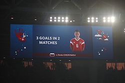 June 19, 2018 - St. Petersburg, Russia - June 19, 2018, Russia, St. Petersburg, FIFA World Cup 2018, First round, Group A, Second round, Russia - Egypt at the St Petersburg stadium. Player of the national team (Credit Image: © Russian Look via ZUMA Wire)