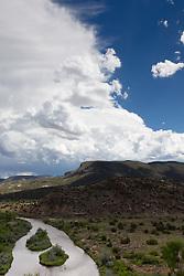 Rio Chama River in Abiquiu, New Mexico