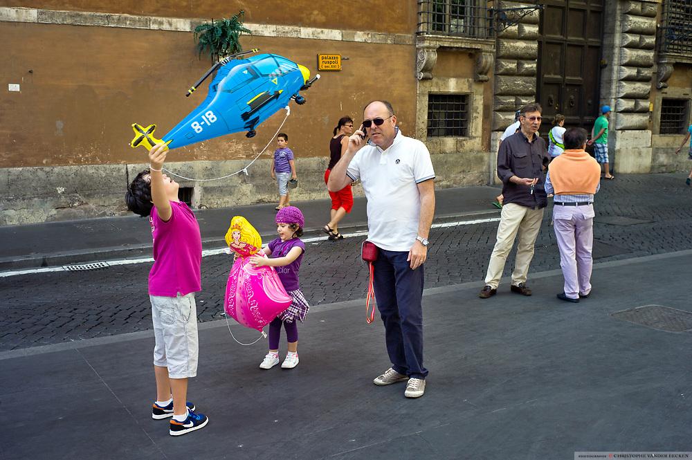 Rome, Italy, 19 jun 2011, Streetcorners of Rome
