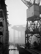 Cranes, Swan Hunter & Wigham Richardson Shipyard, England, 1928