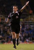 Photo: Glyn Thomas.<br />Birmingham City v West Ham United. The Barclays Premiership. 05/12/2005.<br /> Referee Mike Atkinson.