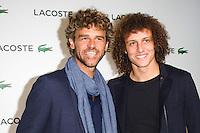 David Luiz / Gustavo Kuerten - 22.01.2015 - Soiree Lacoste au Faust - Paris Saint Germain <br /> Photo : Pascal Poitier / Visual / Icon Sport