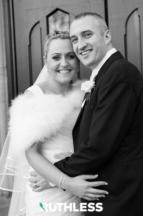 Joy & Dave get married.