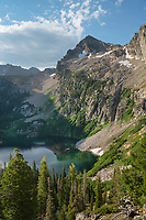 Alpine Lake Sawtooth Mountains Idaho